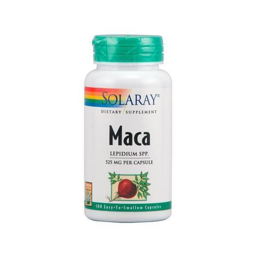 Maca 525 mg Solaray, 100 capsule