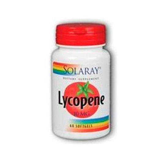 Lycopene 10 mg Solaray, 60 capsule