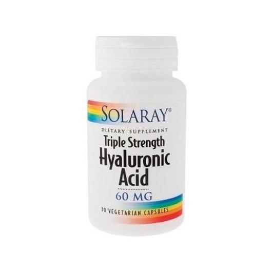 Acide hyaluronique 60 mg Solaray, 30 capsules