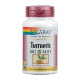 Turmeric 600 mg Solaray, 30 capsule