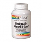 Nutritionally Balanced B stress Solaray, 100 capsule