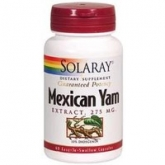 Mexican Yam 275 mg Solaray, 60 capsules