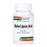 Acido Alfa Lipoico Solaray, 250 mg