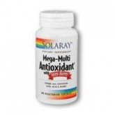 Mega-Multi Antioxydant Very Berry (avec baies) Solaray, 60 capsules