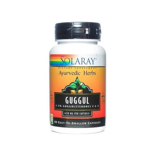 Guggul 500 mg Solaray, 60 capsules