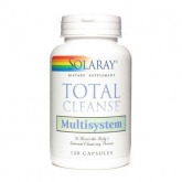 Total Cleanse Multisystem Solaray, 120 capsules