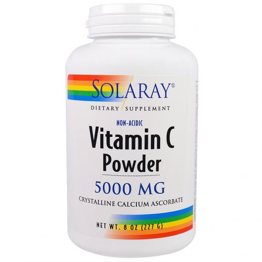 Vitamina C Crystalline Nonacid Solaray