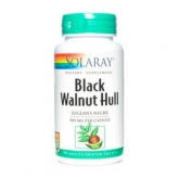 Black Walnut Hull (Noyer noir) Solaray, 100 capsules