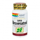 SUPER RESVERATROL 30CAP 250MG