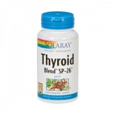 Thyroid Blend Kelp 500 mg Solaray, 100 capsule