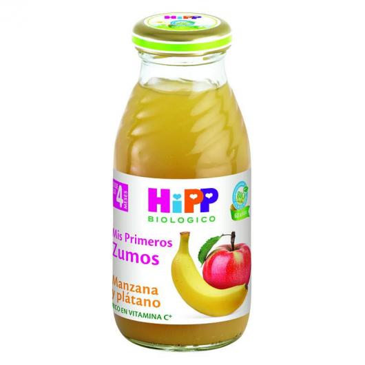 Succo Biologico Mela e Banana 4M Hipp, 200 ml