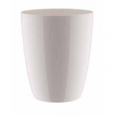 Vaso alto Brussels diamond orchidee Bianco