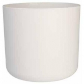 Vaso alto B.for soft round branco
