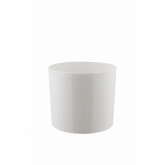 Vaso alto B.for diamond cacto branco