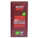 Cioccolato fondente Mascao all' 85% Alternativa, 80 g
