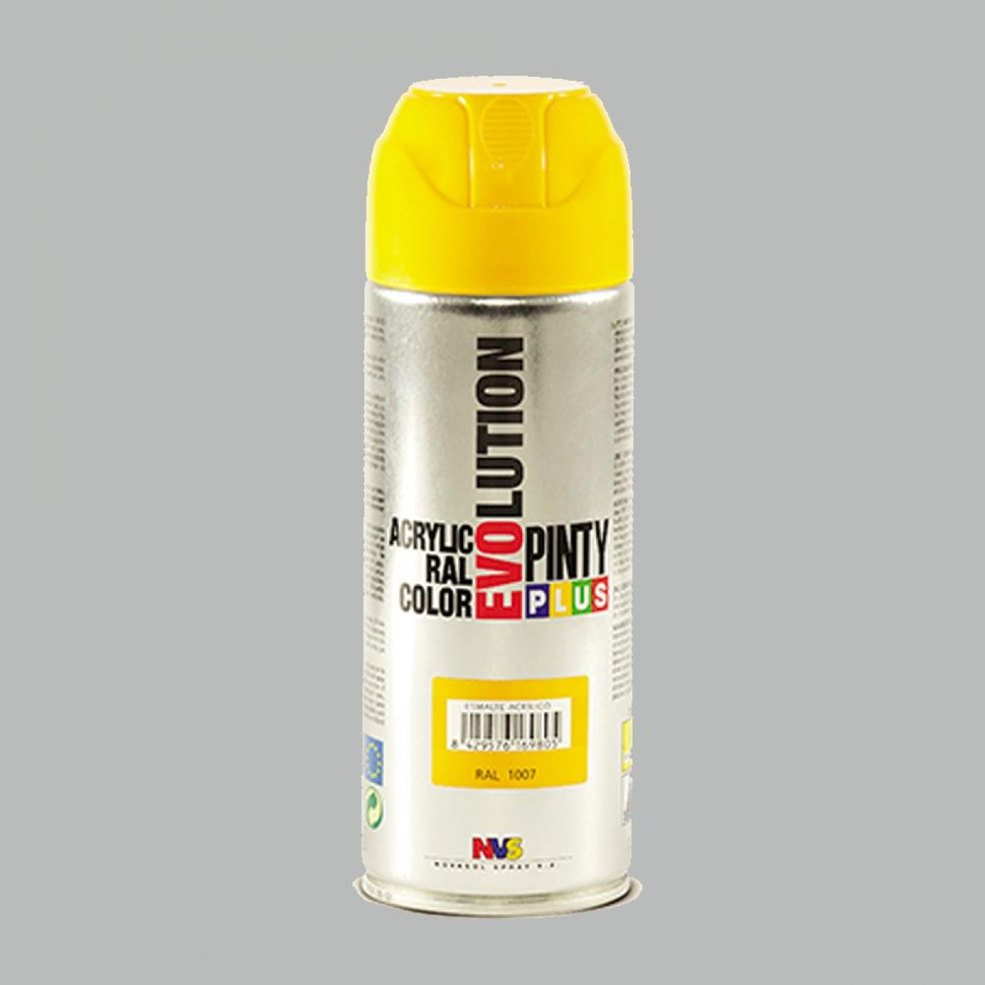 Pintura en Spray Evolution Plata Purpurina, 400 ml por 4 ...
