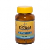 L-Carnitina 450 mg Nature Essential, 100 cápsulas