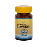 Paba 100 Mg Nature Essential, 50 Cápsulas