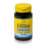 Omega-3 500 mg (EPA 35% DHA25%) Nature Essential, 50 Perle