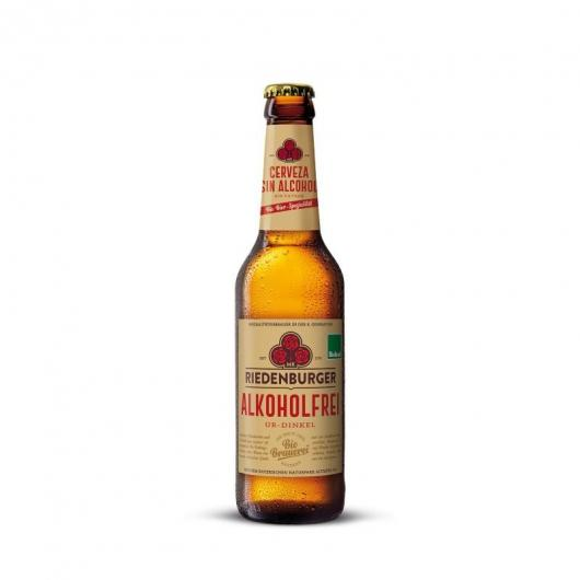 Cerveza espelta sin alcohol Riedenburger 33cl