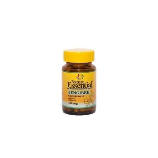 Jengibre 400 mg Nature Essential,  50 cápsulas