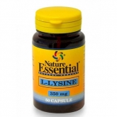 L-Lisina 350 mg Nature Essential, 50 Cápsulas