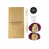 Cachecol fechado Air Snood We Are Knitters, vinho
