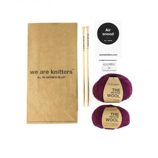 Cuello Air Snood We Are Knitters, vino