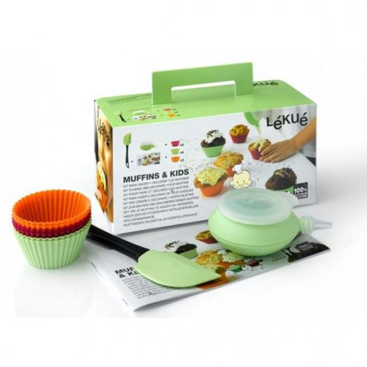Kit Muffins & Kids Lékué