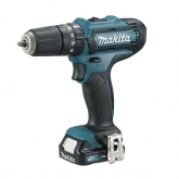 Perceuse à Percussion Makita HP331DSAE 10.8 V 2.0 Ah avec 2 batteries