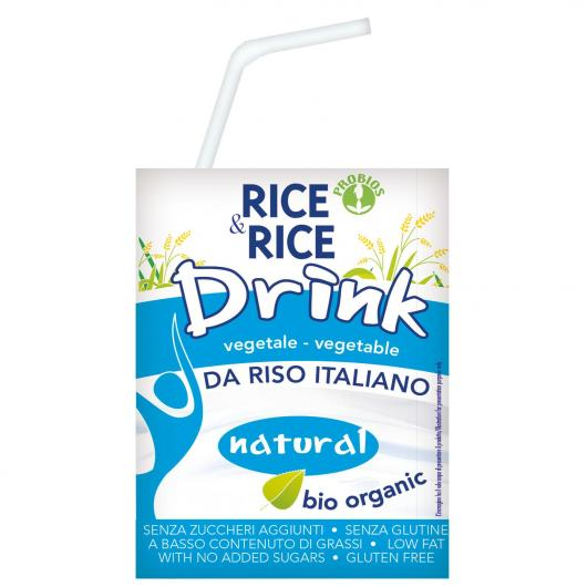 Bebida de arroz BIO Rice & Rice, 200 ml
