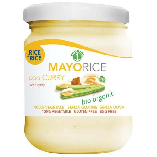 Mayorice salsa di riso con curry BIO Rice & Ricer, 165 g