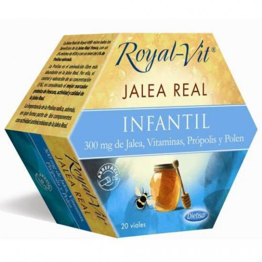 Gelée Royale Royal-Children Vit, 20 flacons