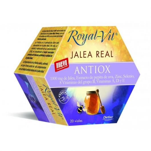 Pappa Reale Royal Vit Antiox, 20 fiale