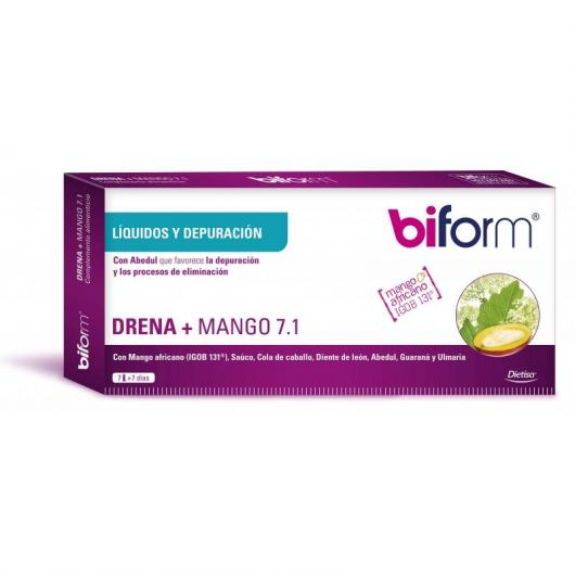 Extrait de Mangue Biform, 7 flacons