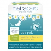 Compresa regular con alas bio Natracre 14 uds