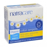 Tampon Super Sans applicateur Bio Natracare 10 unités