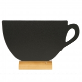 Ardoise de table Tasse