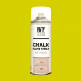 Pintura a la tiza / Chalk paint en Spray - Amarillo Mostaza, 400 ml