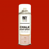 Pintura a la tiza / Chalk paint en Spray - Red Velvet, 400 ml