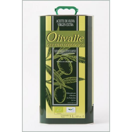 Huile d'Olive Vierge Extra Bio Olivalle 5 L