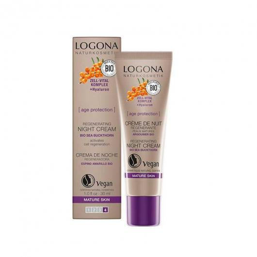 Crema notte Age protection Logona, 30ml