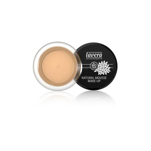 Maquillaje mousse natural - Honey 03 Lavera 15 g