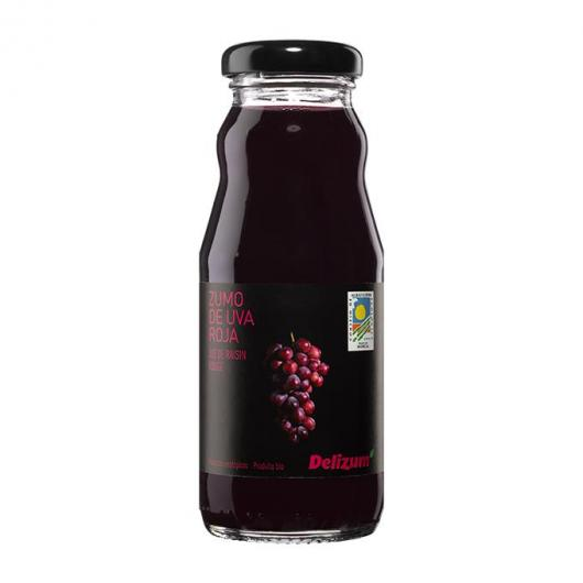 jus de Raisin Rouge Ecologique Delizum