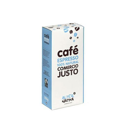 Café expresso moulu Alternativa, 250 g