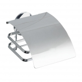 Turbo-Loc Porta rotoli, inox Cover