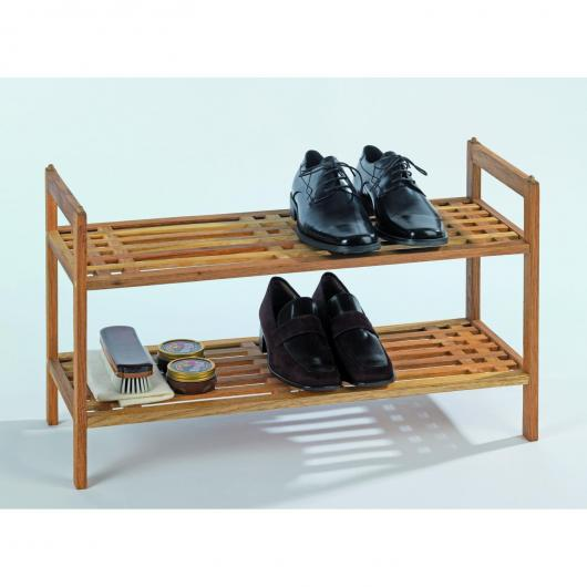 Meuble Chaussures 2 Étages Norway
