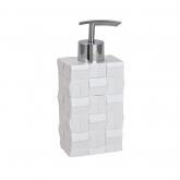 Distributeur de Savon Relieve, blanc
