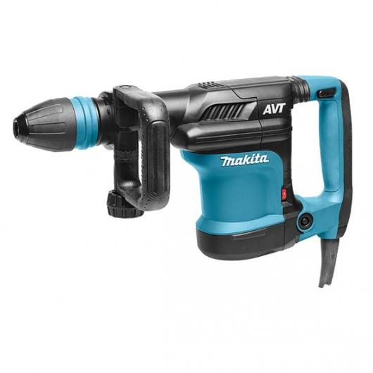 Martello Demolitore 5,6 Kg AVT e set di scalpelli  SDS-MAX 400 mm Makita