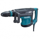 Martello demolitore 10,8 Kg AVT y Set di scalpelli SDS-MAX 400 mm Makita